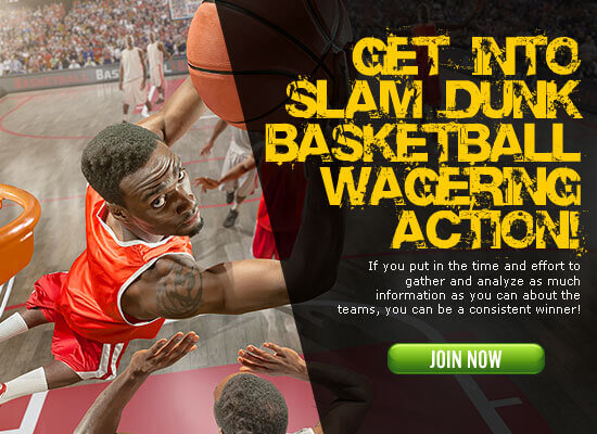 Click to get into exciting basketball wagering action!